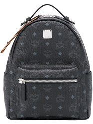 Mcm Visetos Backpack Black