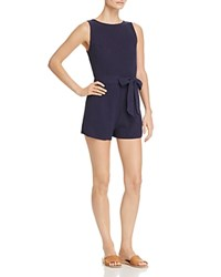 Aqua V Back Romper 100 Exclusive Navy