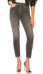 Joe's Jeans X We Wore What The Danielle High Rise Vintage Straight. Grey