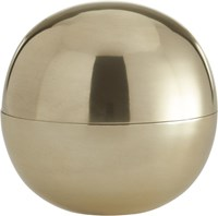 Cb2 Dome Large Gold Storage