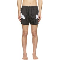 Neil Barrett Black Arrow Swim Shorts