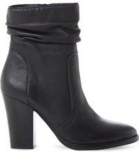 Steve Madden Hunk Sm Leather Calf Boot Black Leather