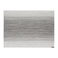 Chilewich Ombre Rectangle Placemat Silver