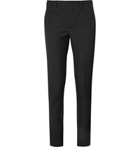 Givenchy Slim Fit Wool Trousers Black