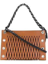 Sonia Rykiel Le Baltard Double Pouch Brown