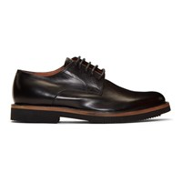 Dries Van Noten Black Foderato Derbys