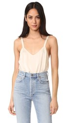 Vince Wide Strap Cami Bleached