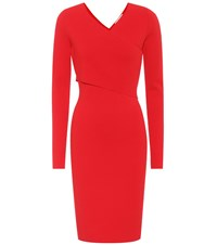 Diane Von Furstenberg Jersey Dress Red