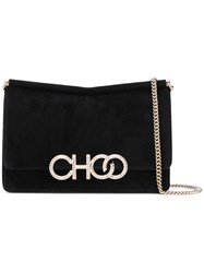 Jimmy Choo Sidney M Cross Body Bag Black