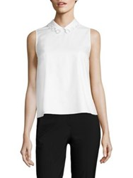 Carven Cotton Tank Top
