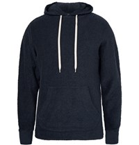 Snow Peak Organic Long Loop Cotton Terry Hoodie Storm Blue