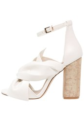 Miss Selfridge Candy Sandals White