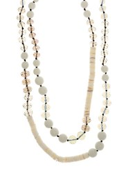 Lonna And Lilly Recon Shell Glass Necklace Natural