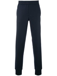 Paul Smith Ps By Straight Leg Track Pants Blue
