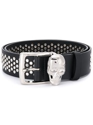 Philipp Plein Studded Belt Black