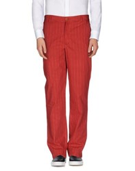 Brooksfield Trousers Casual Trousers Men Red