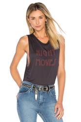 Project Social T Night Moves Bodysuit Charcoal