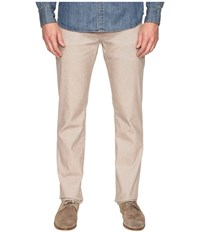 7 For All Mankind Slimmy W Clean Pocket In Brushed Melange Tan Brushed Melange Tan Men's Jeans Khaki