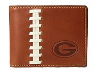 Dooney And Bourke Nfl Leather Wallets Credit Card Billfold Tan Tan Packers Credit Card Wallet Brown
