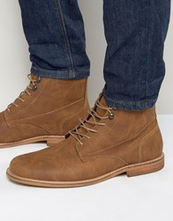 Call It Spring Croiwet Laceup Boots Tan