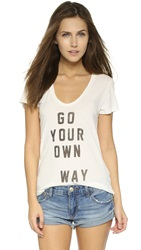 Sol Angeles Your Way Tee D White