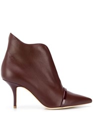 Malone Souliers Coram Ankle Boots Red