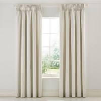 Morris And Co Wandle Grey Lined Curtains Cream