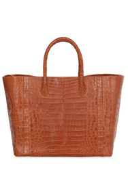 Nancy Gonzalez Medium Crocodile Tote Bag