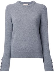 Michael Kors Crew Neck Jumper Grey