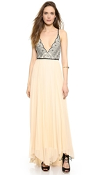 Free People Belle Of The Ball Maxi Dress Tea