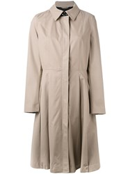 Mackage Flared Trench Coat Nude Neutrals