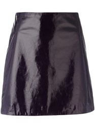 Nina Ricci Mini A Line Skirt Pink Purple