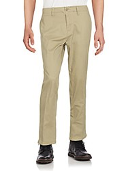 Saks Fifth Avenue Cotton Blend Stretch Pants Carbon