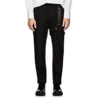 Alyx Harness Detailed Wool Slim Trousers Black