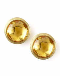 Marco Bicego Jaipur Citrine Stud Earrings