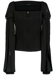 Gloria Coelho Louis Xv Cardigan Black