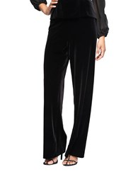Alex Evenings Flat Front Pants Black