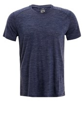 Icebreaker Sphere Sports Shirt Admiral Heather Blue
