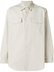 Ih Nom Uh Nit Loose Longsleeved Shirt Nude And Neutrals