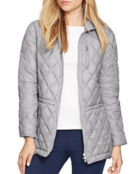 Lauren Ralph Lauren Plus Quilted Down Jacket Steel Grey