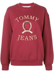 Tommy Jeans Crest Embroidered Sweatshirt