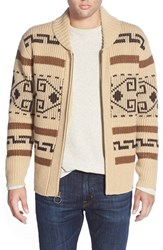 Men's Pendleton 'Original Westerly' Shawl Collar Zip Sweater