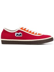 Marni Low Top Sneakers Red