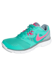 Nike Performance Flex Experience Rn 3 Lightweight Running Shoes Hyper Jade Hyper Punch Magnet Grey Turquoise