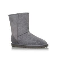 Ugg Classic Short Constellation Flat Boots Grey