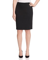 Vince Camuto Plus Pencil Skirt Rich Black