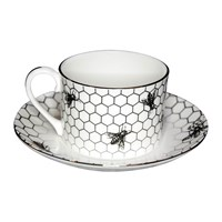 Rory Dobner Buzzing Bee Teacup And Saucer