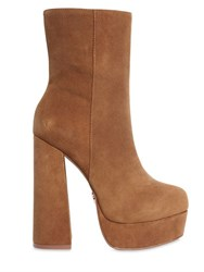 Windsor Smith 140Mm Clover Suede Platform Boots