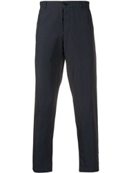 Ymc Pinstriped Straight Fit Trousers 60