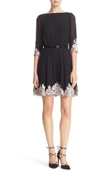 Ted Baker Women's London Feay Belted Lace Embellished Dress